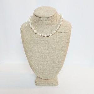 Monet Jewelry - Monet Cream Color Pearl Single Strand Necklace
